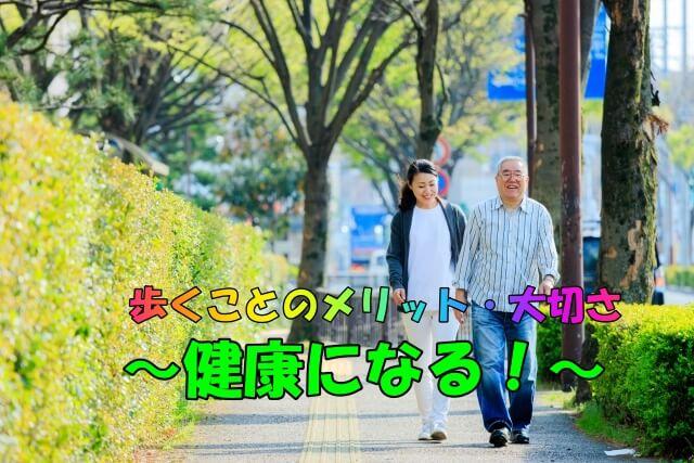 理学療法士が教える。歩くことの大切さとメリット【歩くことで健康になる!!】