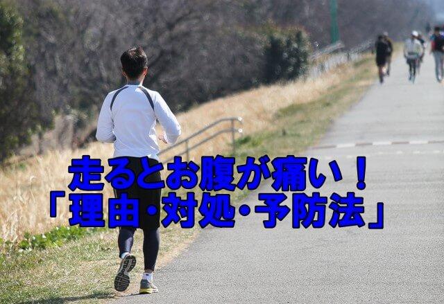 走るとお腹が痛くなる「理由・対処法・予防策」(マラソンや長距離走に使える)